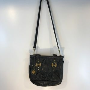 Fossil Black Leather Two-Way Purse